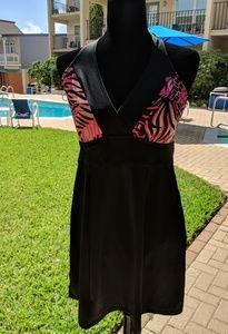 Tropical Escape one piece swimsuit Bathing suit 8